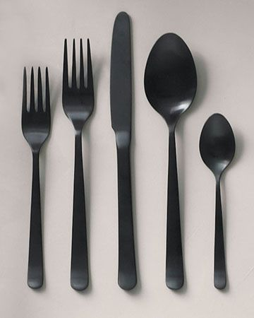 Dream backyard bbq #contest These stainless-steel utensils have a matte black finish -- like the look?