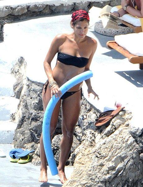 Eva Mendes On Vacation In Italy B Eva Mendes Eva