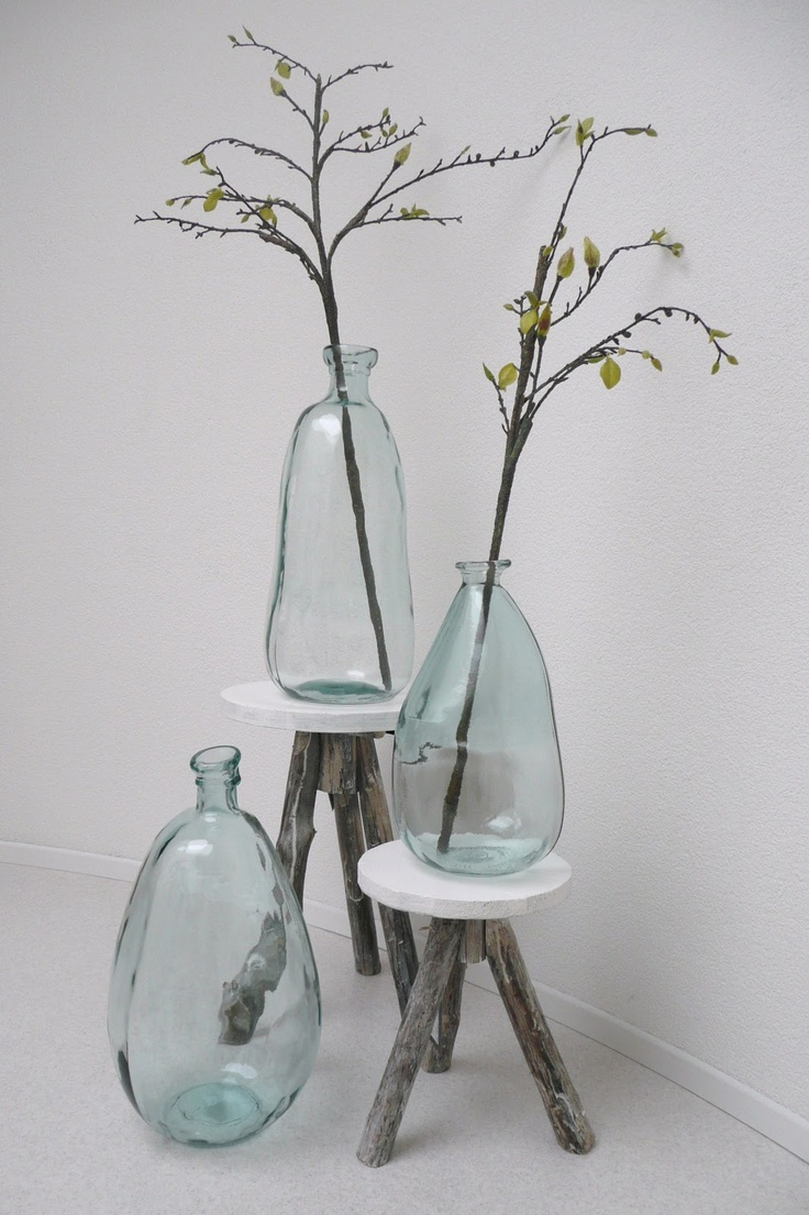 247 best twigS and glaSS... images on Pinterest   Flasks, Glass art ...