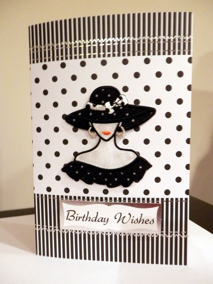 Polka Dots Hat and Dress for My Birthday - Kanban Crafts cardstock - Scrapbook.com