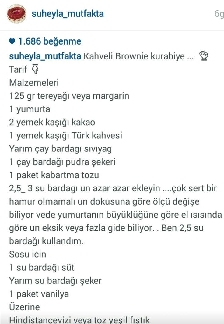 KAHVELİ BROWNİE