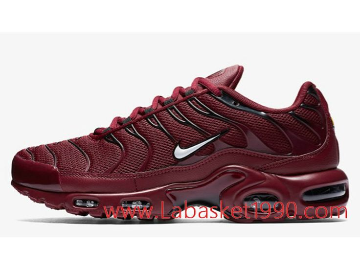 huge selection of b4baf 85555 Nike Air Max Plus 852630-602 Chaussures Nike Prix Pas cher pour homme rouge-