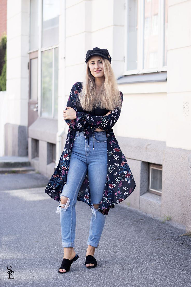 sandraemilia, outfit, flowers, hat, hatt, mössa, emil i lönneberga, 3