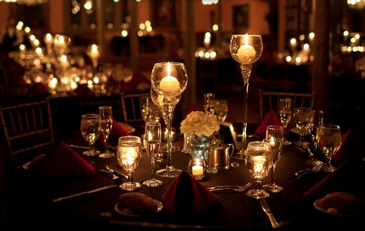 Evening wedding centerpiece - DIY ideas | DIY Evening ...