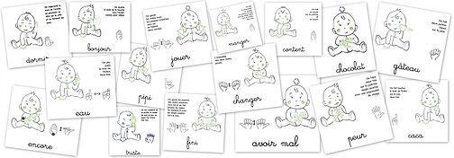 Je me suis intéressée à la langue des signes pour bébé en fouillant sur le net, durant les longues journées de repos vers la fin de ma grossesse. J'ai été inte