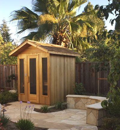 Freestanding outdoor sauna. #sauna #finlandia #saunas #diamondfitness #health #relax #detox #luxury