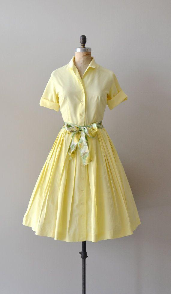#dress #1950s #partydress #vintage #frock #retro #teadress #petticoat #romantic #feminine #fashion #belt #bow