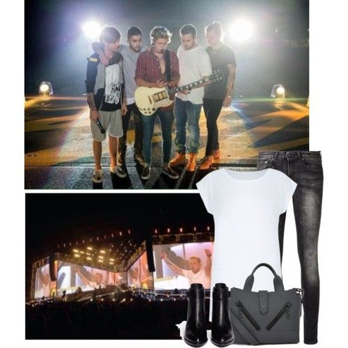First OTRA concert with Liam - Polyvore