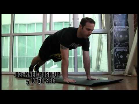 Bodyweight Conditioning Workout for Muay Thai Kickboxing - YouTube