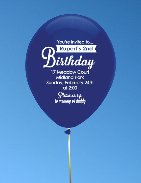 Custom Balloons for Birthdays Weddings or Other by PepitaPress, $3.00