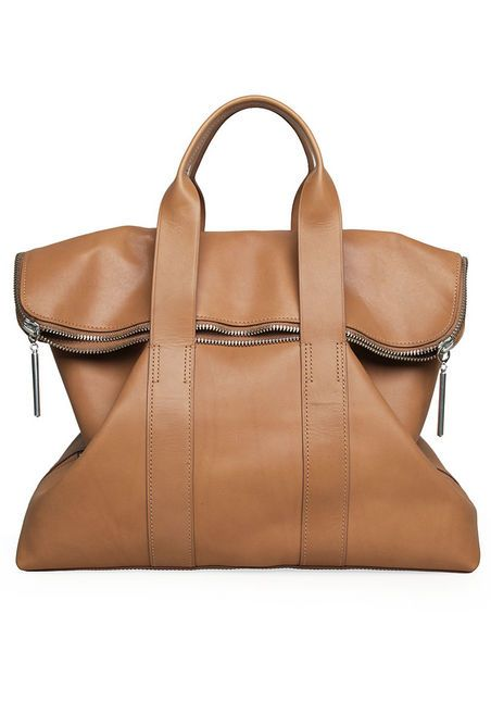 """obsessing over this bag at 7 in the morning. not good. 3.1 Phillip Lim's 31 hour bag. """"affordable"""" too."""