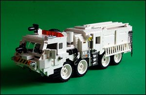 amazing lego trucks | The Linkster Blog: Fantastic Lego Art