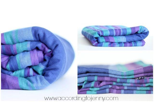 Chimparoo Woven Wrap Review - Iris