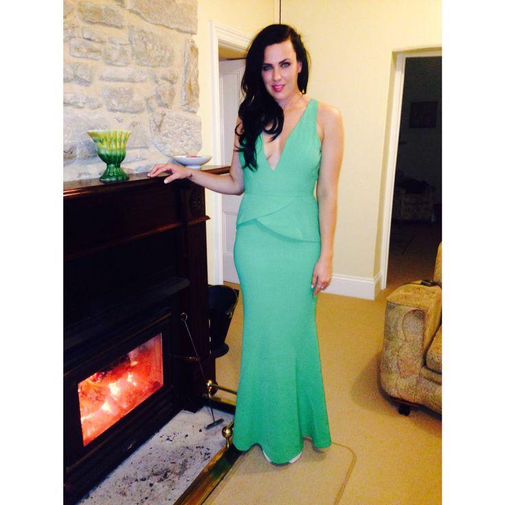 Green Sheike dress