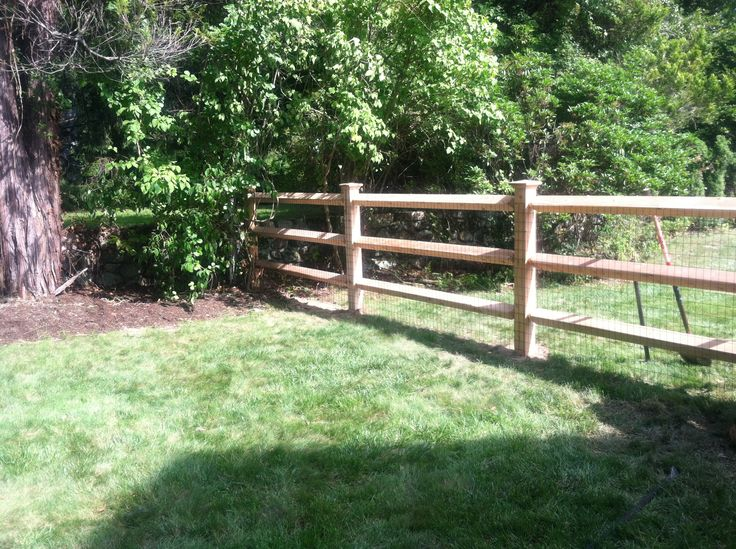 8 best Post and Rail style of fencing images on Pinterest | Fencing ...