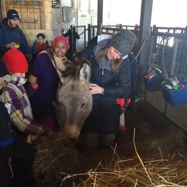 """""""Making friends at @thof_camp @fhlwrdsb @wrdsb"""" - @Mrs_Fays_Class, retweeted by @RebeccaFayWRDSB- February 18, 2016 - Field trips and hands on leanring will help students gather the knowledge and understanding they need.  It also allows for the literacies to be brought up in the moment to be discuss throughout the trips."""