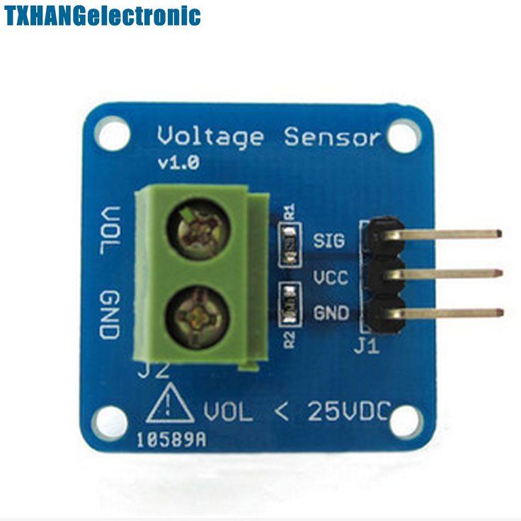 DC Voltage Sensor Module Voltage Detector Divider DG New