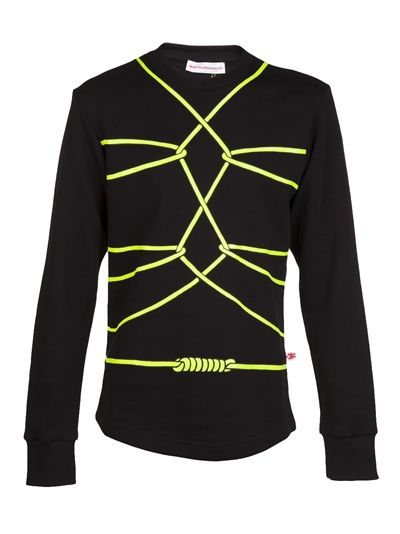 WALTER VAN BEIRENDONCK Bondage Long-Sleeved Sweater