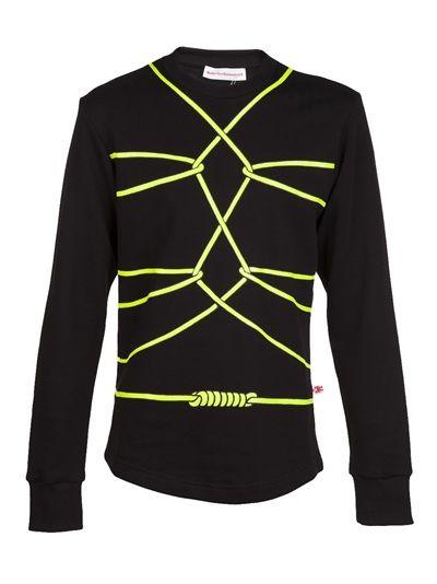 WALTER VAN BEIRENDONCK Bondage Long-Sleeved Sweater