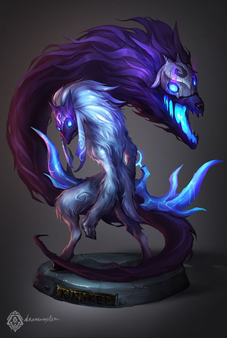 Kindred on Pinterest | League Of Legends, Masks and Cosplay