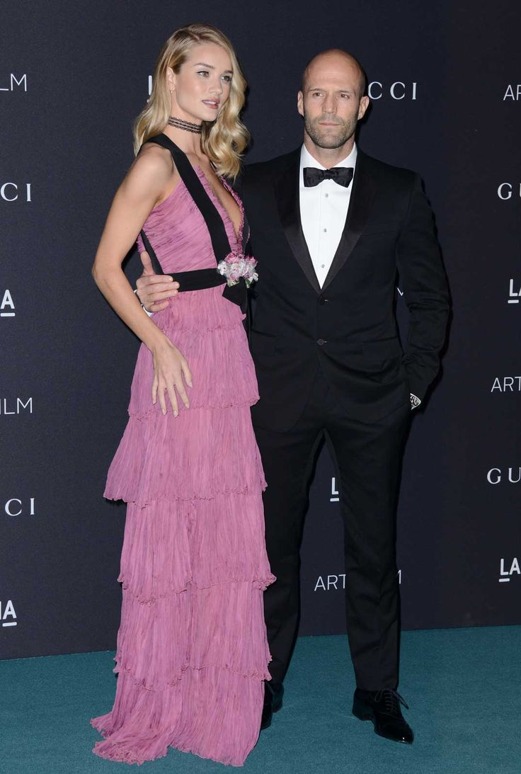 Premios Lacma: Rosie Huntington y Jason Staham