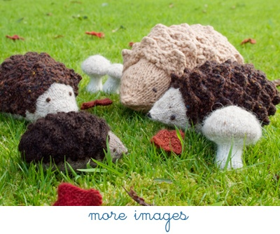 Adorable free #knitting pattern for a hedgehog.
