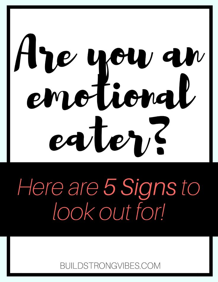 Do you eat when you are stressed, anxious or nervous? You may be an emotional eater! Here are 5 signs to look out for as well as overcoming emotional eating!