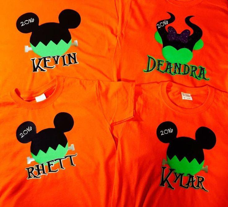 A personal favorite from my Etsy shop https://www.etsy.com/listing/294444151/disney-halloween-shirts (Disney Halloween Art)