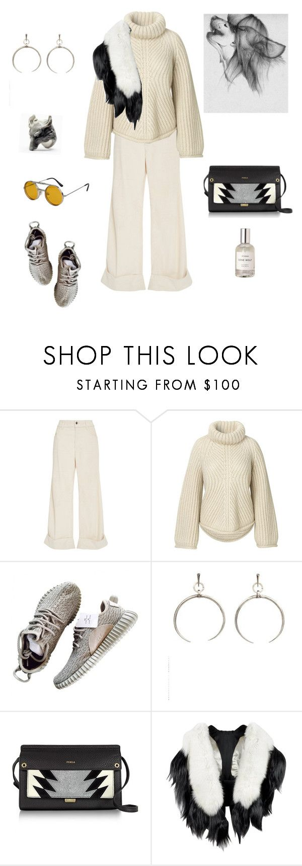 """Time For Yourself"" by futuraocculto ❤ liked on Polyvore featuring The Seafarer, Luv Aj, Furla, Fearfur and Spitfire"
