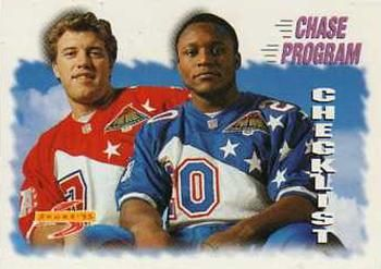 1995 Score #235 John Elway - Barry Sanders - Detroit Lions.