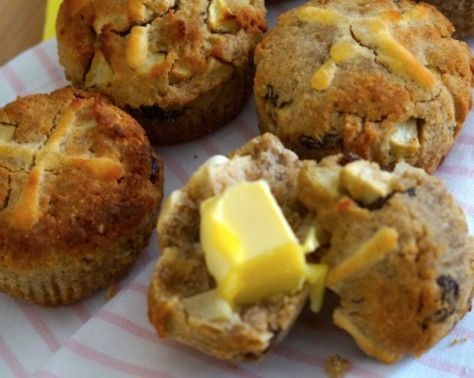 Paleo Hot Cross Buns by The Merrymaker Sisters