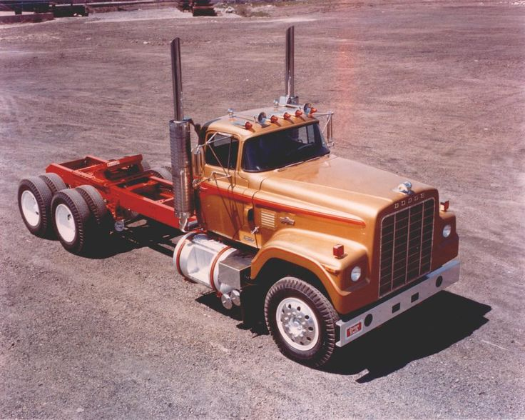 Big Rig Wiring : Images about old dodge truck pictures on pinterest