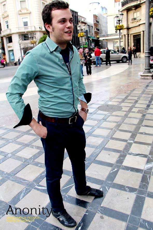 Camisa Verde | Imagen 3 | #Hombre #Camisa #Verde