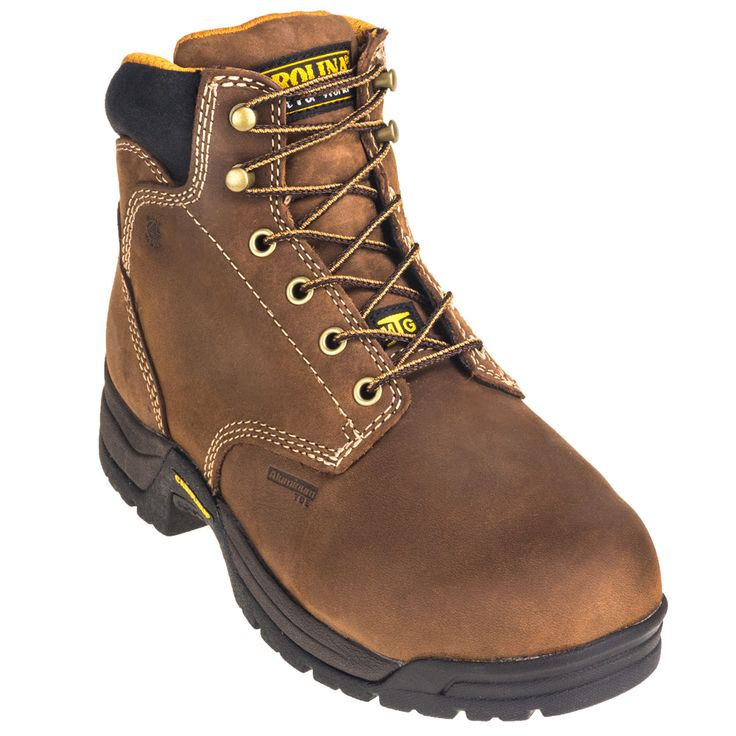 Carolina Boots Women's Safety Toe Internal Metatarsal CA1428 EH 5 Inch Work Boots