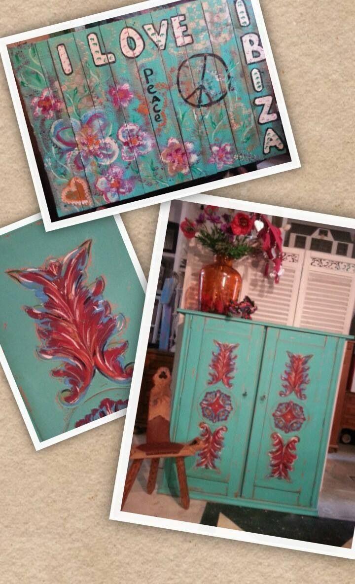 Meer dan 1000 ideeën over tropische kleuren op pinterest ...