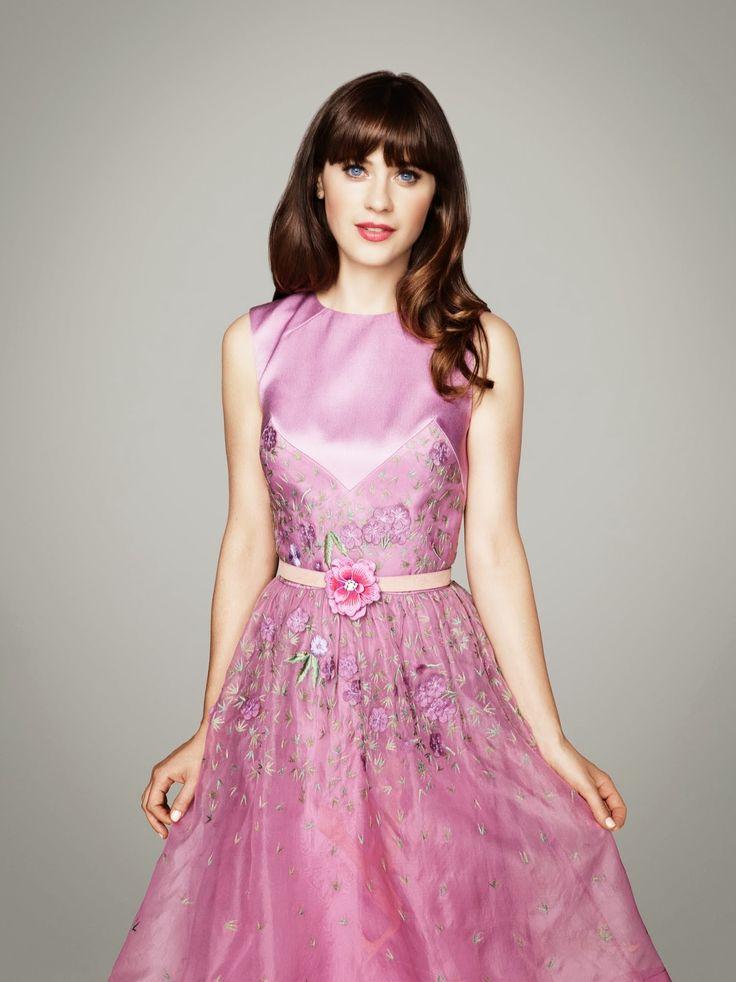 369 best images about dream closet on pinterest tulle for Zooey deschanel wedding dress