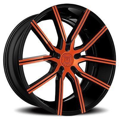 4pcs 24 Lexani Wheels Gravity Custom Color Rims