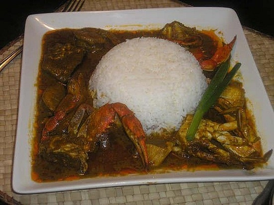 http://www.TravelPod.com - liberian food by TravelPod member Blk24ga, from Monrovia, Liberia ... very spicey  ( palmbutter) Very yummy