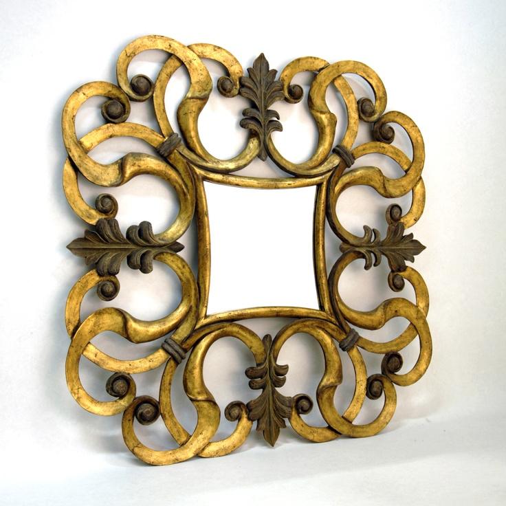 15 mejores imágenes de espejos con marco en Pinterest   Madera ...