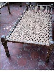 How to make a Charpoy (woven cot)