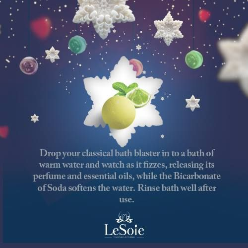 """#Christmas time should all be about #relaxing, and Lesoie got your back on this, just try one of our """"Bath Blasters"""" fragranced with notes of a watery cucumber and exotic melon with cooling menthol & lime notes. Ideal to use after a day of stress الكريسماس يجب ان يكون فقط للاسترخاء وليسوى ستساعدكم على ذلك بمنتجاتها المميزة للاسترخاء خلال الاستحمام , فقط جربوه ولن تندموا, يمكنكم معرفة الروائح الاخرى من هنا  http://goo.gl/UZJYs4"""