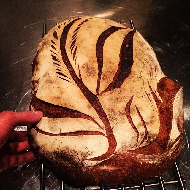 Voila! 6.5 kilos of pure love! Hand-kneaded with Warbros spelt flour and 45-hour fermentation. Pinned with permission of Sébastien Boudet ‏([@]sebastienbou).