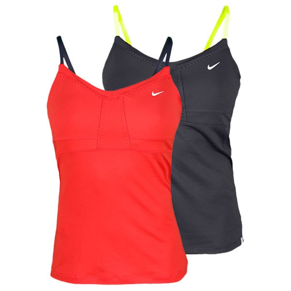 Nike Women`s Strappy Knit Tennis Tank. I love the Red/Navy top and its for $55.00 Only