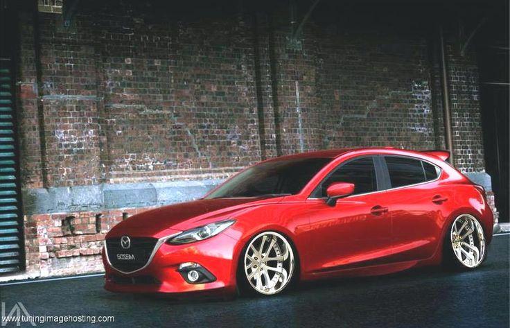 Mazda 3 slammed