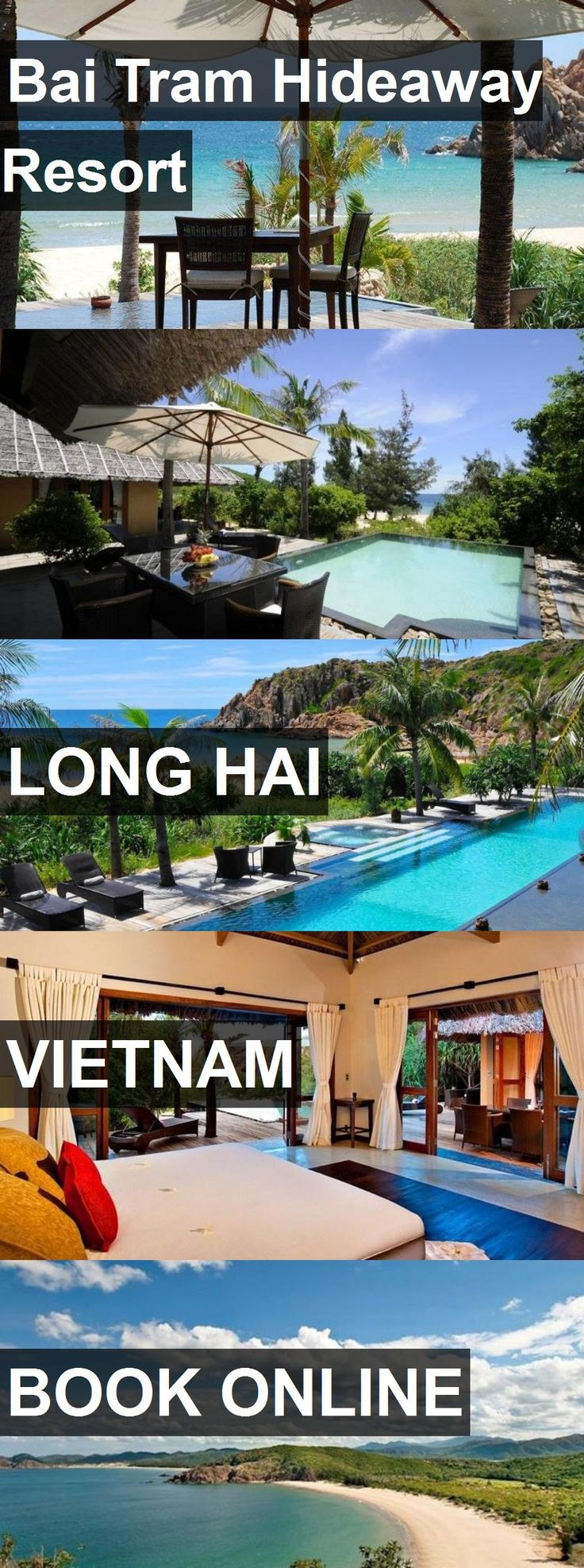 Hotel Bai Tram Hideaway Resort in Long Hai, Vietnam. For more information, photos, reviews and best prices please follow the link. #Vietnam #LongHai #travel #vacation #hotel