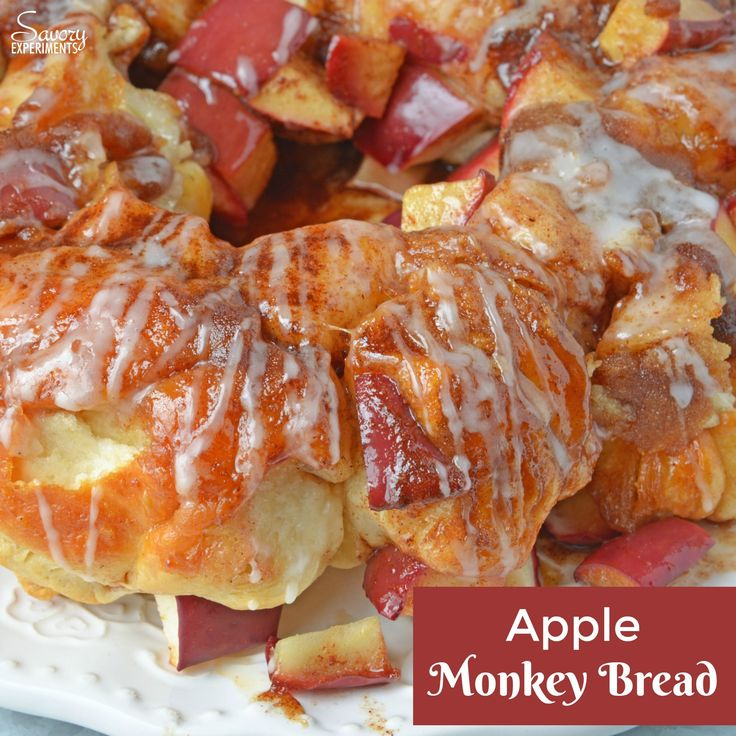 Apple Monkey Bread is an easy monkey bread with canned biscuits and fresh apples. A winning brunch and breakfast recipe for special occasions.