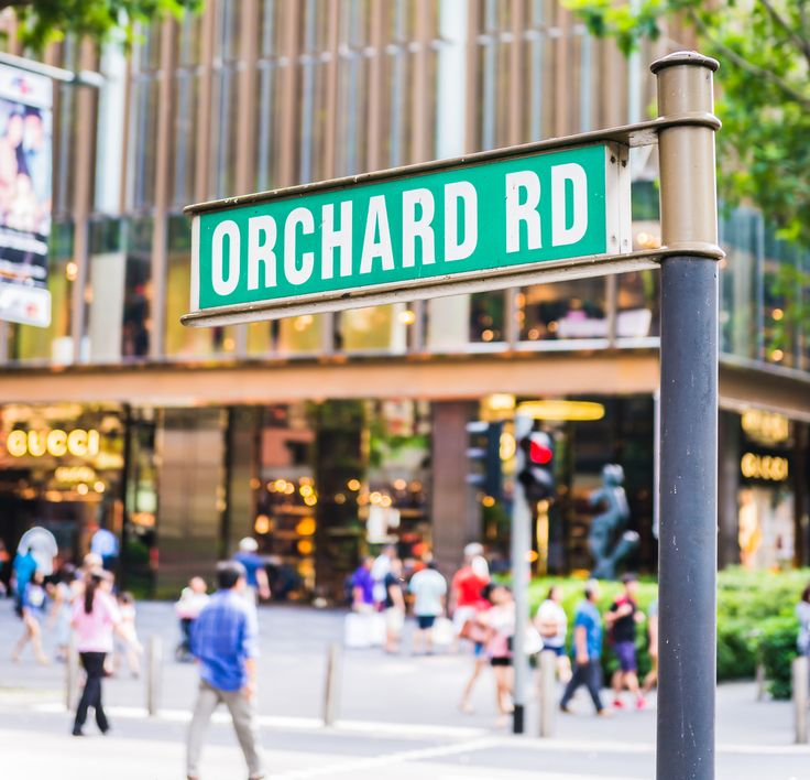 Head to Orchard Road in Singapore for shopping and people watching! One of our best past times ever! #shopping #singapore