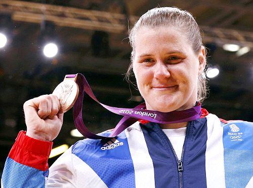 Team GB Medals 2012  20. Karina Bryant- BRONZE  (Judo: Women's +78kg)