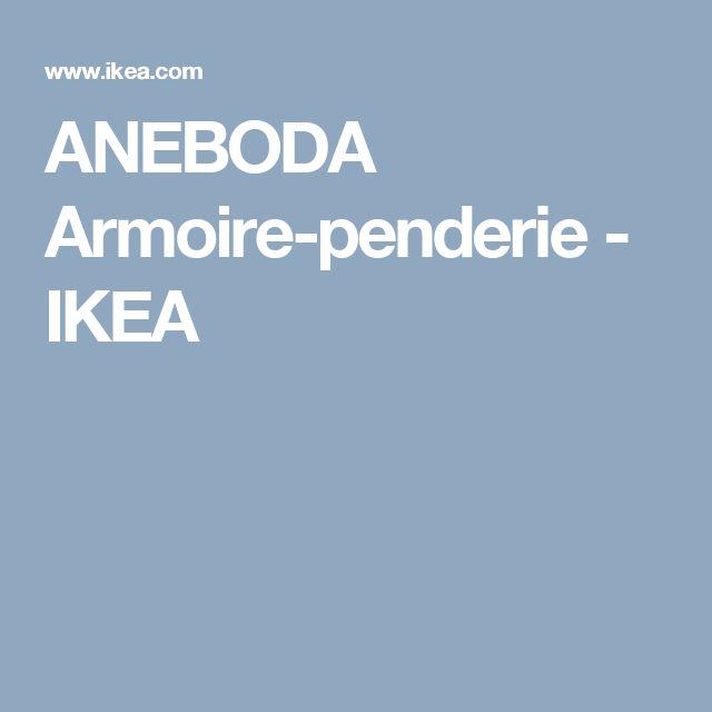 ANEBODA Armoire-penderie   - IKEA