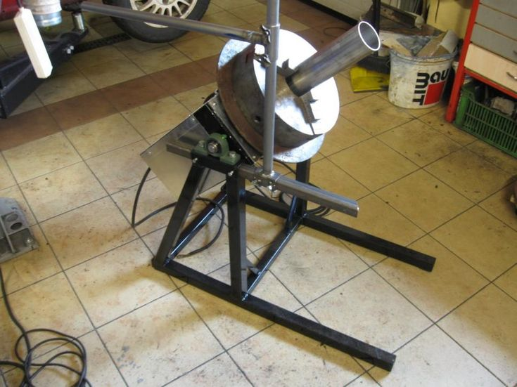 Welding Positioner, Rotating Table by radom - I was thinking about building…